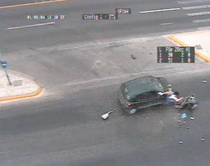 accidente moto grecia coche