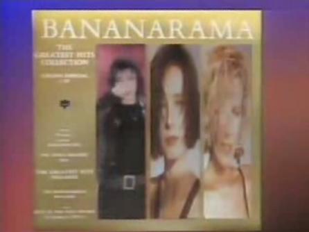 anuncios 1989 television bananarama