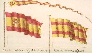 bandera espanola antigua