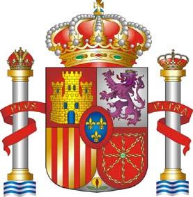 bandera espanola escudo
