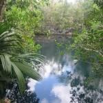 Cenote Angelita en México