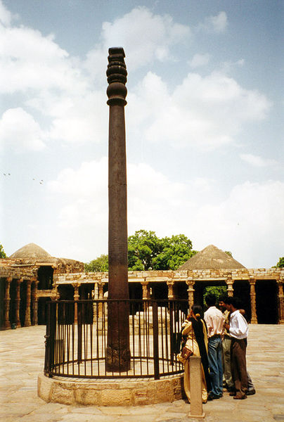 columna acero india valla