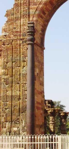 columna acero india