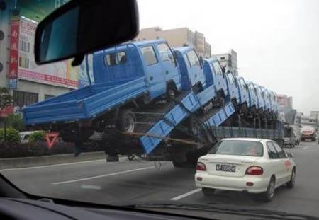 cosas china imagenes fotografias camiones