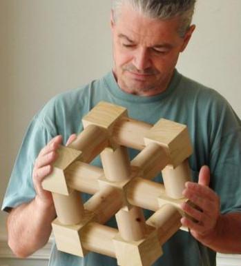 estructuras imposibles ilusiones cubo concavo convexo