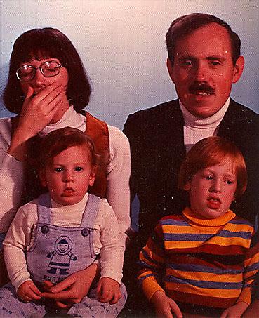 fotos familias raras bostezo
