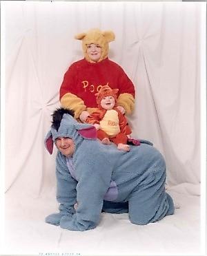 fotos familias raras burros