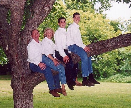 fotos familias raras feliz arbol