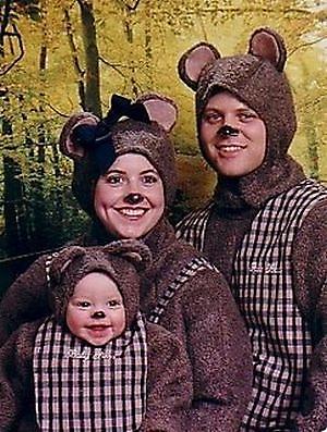 fotos familias raras osos