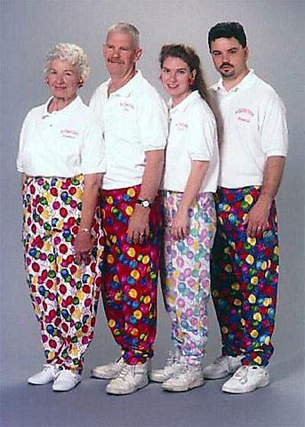 fotos familias raras pantalones