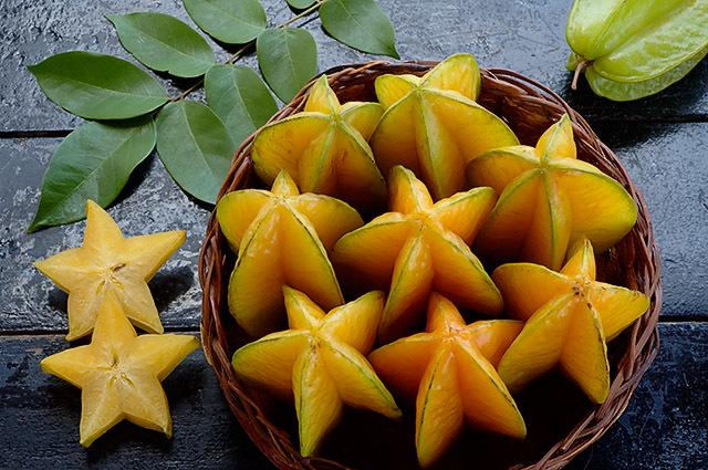 fruta estrella carambola