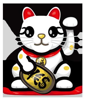 Shinnen omedetoo blogodisea - Porte bonheur chinois chat ...