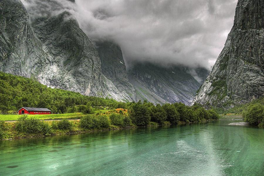 noruega paisaje