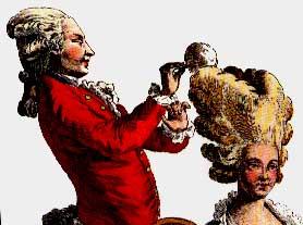 pelucas siglo XVIII francia polvo higiene