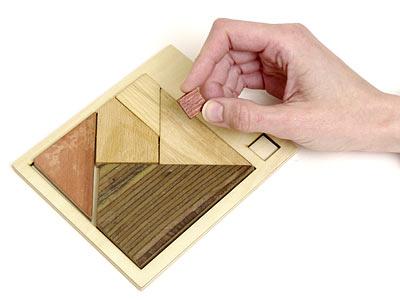 puzzle areas triangulo madera