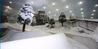 ski dubai nieve esqui