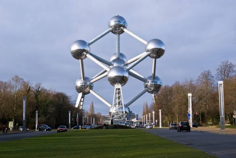Atomium bruselas belgica