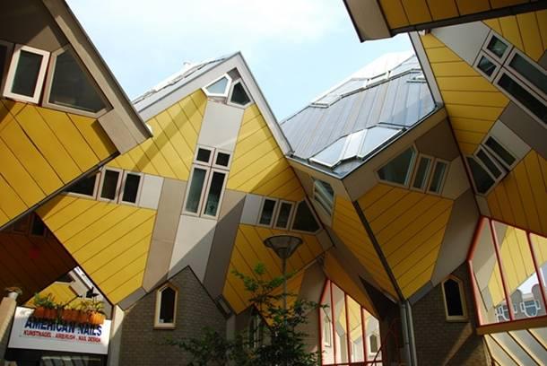 Casas cubicas Rotterdam Holanda