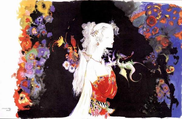 Terra Brandford final fantasy 6 yoshitaka amano