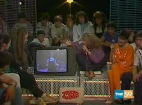 alaska tocata 1985 presentadora