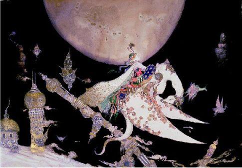 blog-yoshitaka amano-1001 nights