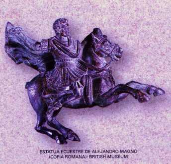 caballo alejandro magno estatua