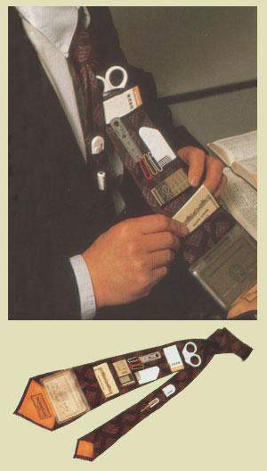 chindogu corbata bolsillo