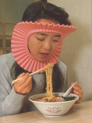 chindogu salpica espaguettis