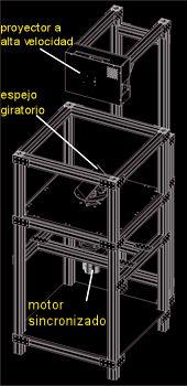 esquema 3d holografico