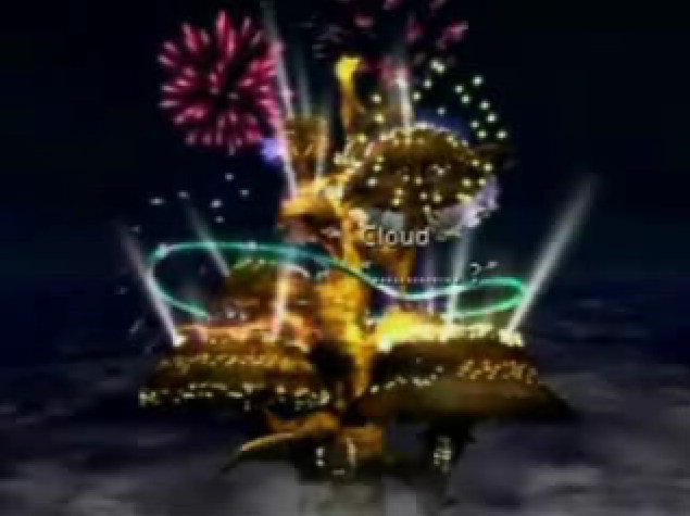 ff7 final fantasy 7 cita gold saucer fuegos artificiales