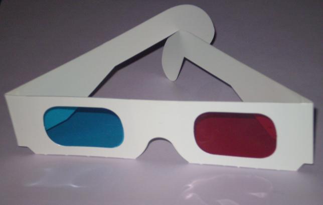 gafas estereoscopicas anaglifo