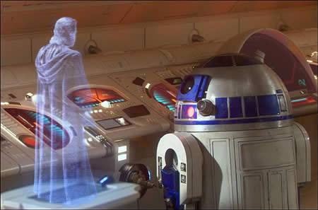 holografia 3d