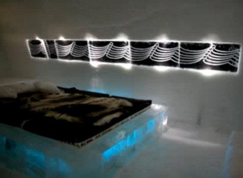hotel hielo habitacion