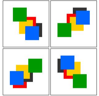 juego cerebro patrones desorientados