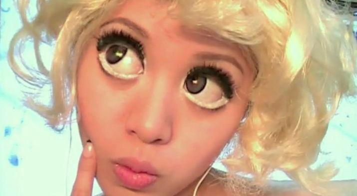 michelle phan lady gaga bad romance maquillar