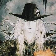 yoshitaka amano Swordsman of moonlight pintura