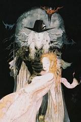 yoshitaka amano Swordsman of moonlight