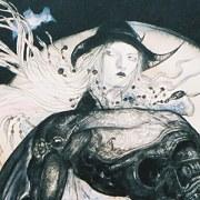 yoshitaka amano pintura Moon Cavalier