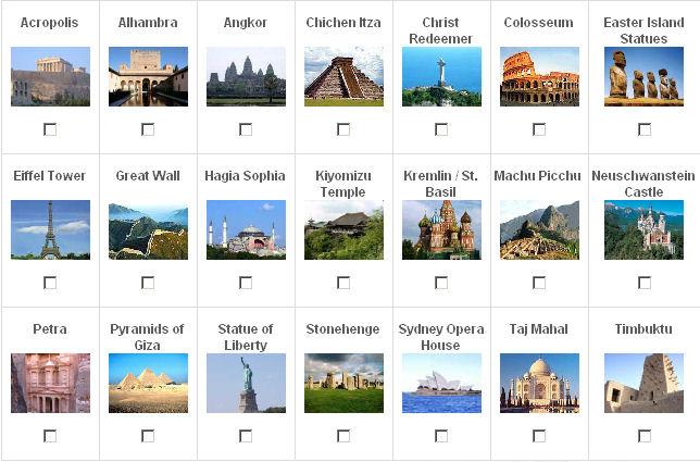 7 maravillas mundo moderno