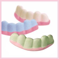 Dentaduras golosina