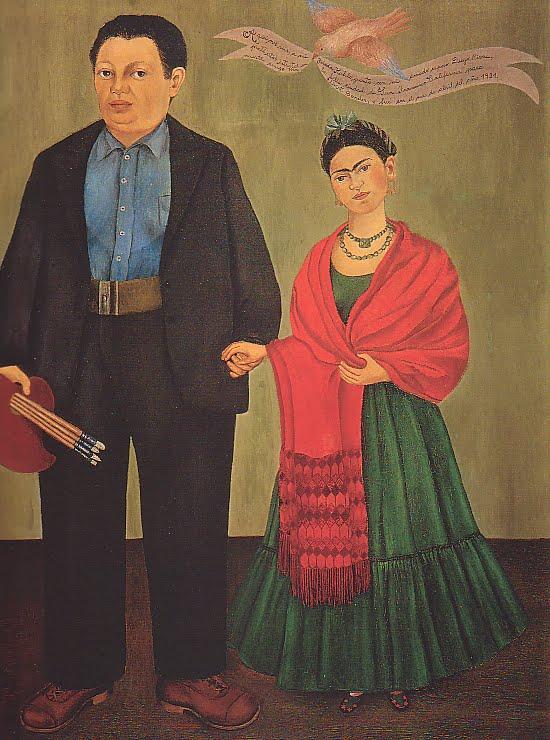 Frida y Diego Rivera 1931