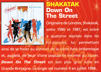 SHAKATAK Down On The Street 1984