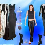Vestir, maquillar y peinar a Angelina Jolie