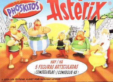 bolleria pastelito infancia pasado phoskitos asterix figuritas