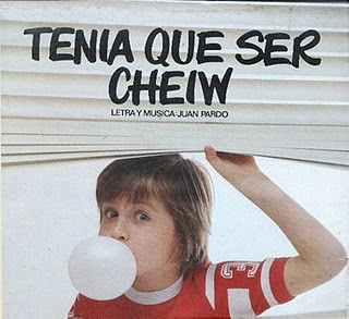 chuches chucherias chicles infancia pasado junior cheiw