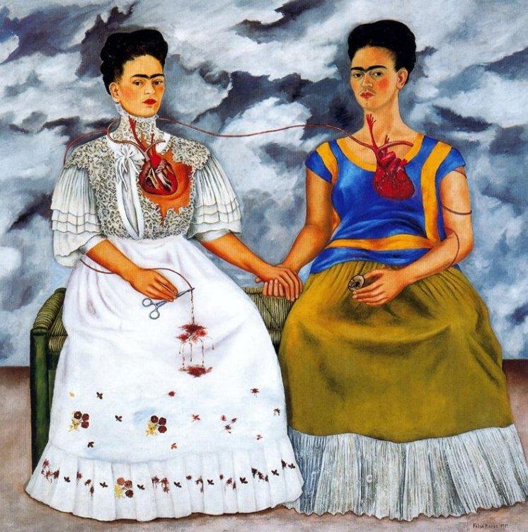 frida-kahlo-dolor-sufrimiento-pintura-dos-fridas-1939