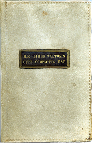 highwayman-George Walton-libro-piel-humana