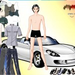 Vestir al chico del coche