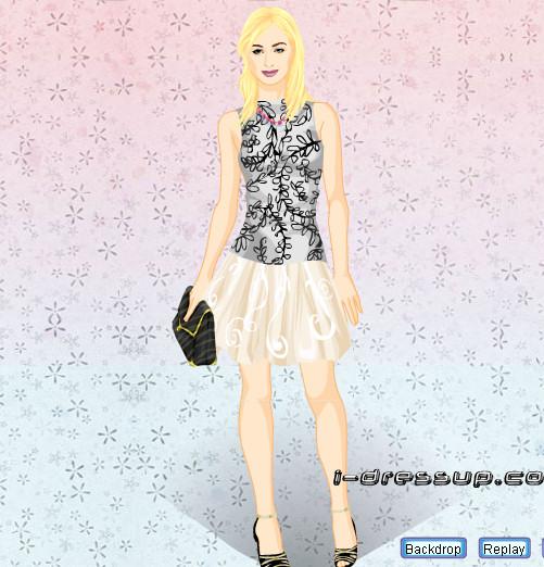 Vestir, peinar y maquillar a Paris Hilton