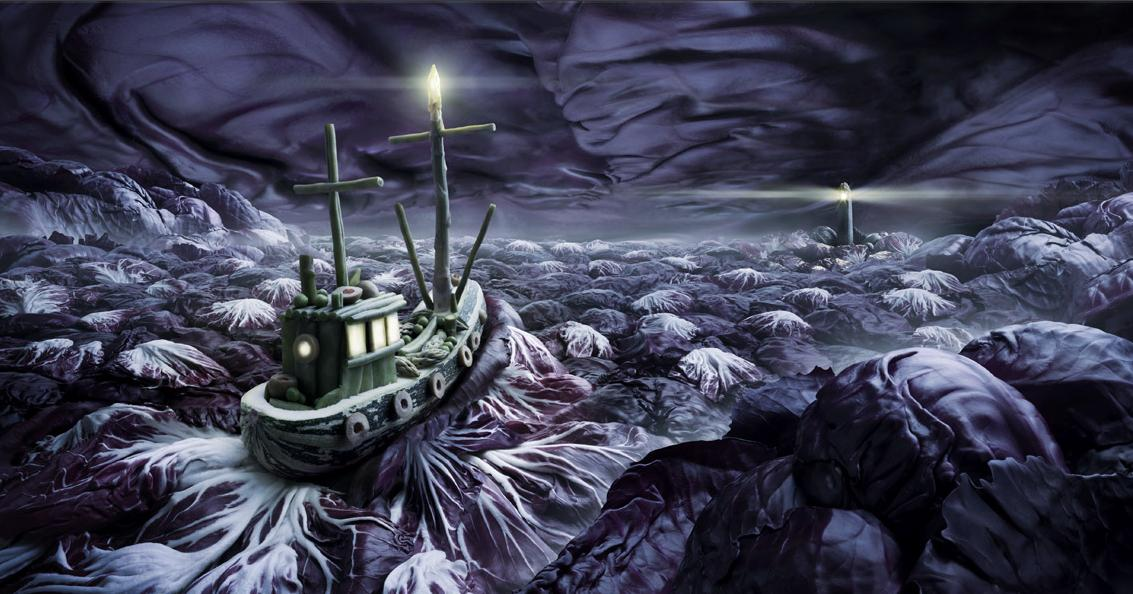 paisaje barco col lombarda